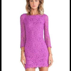 DVF lace dress 💋